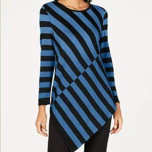 Alfani Women's Asymmetrical Tunic Sweater